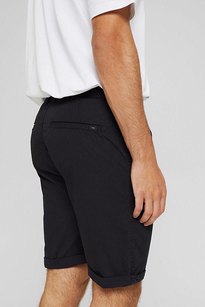 Shorts aus Organic Cotton, ANTHRACITE, detail image number 5