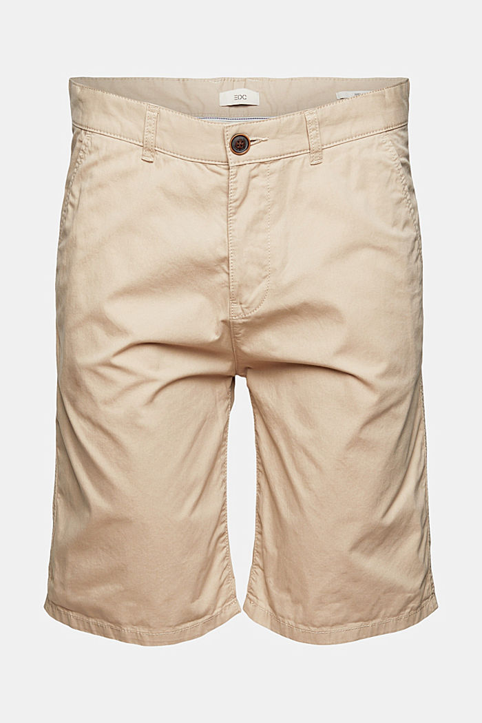 Shorts in organic cotton, LIGHT BEIGE, detail image number 7