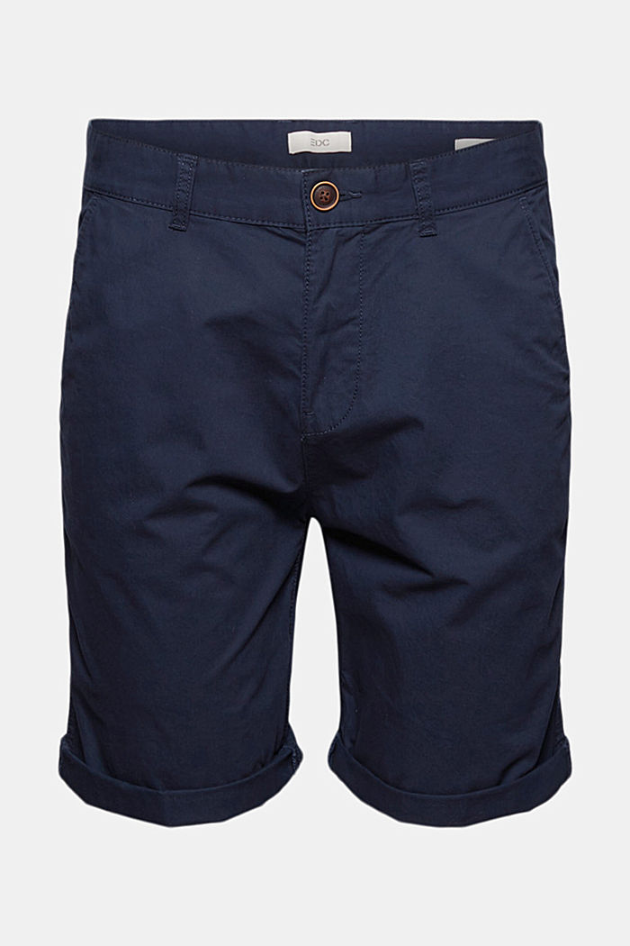 Shorts in organic cotton, NAVY, detail image number 7