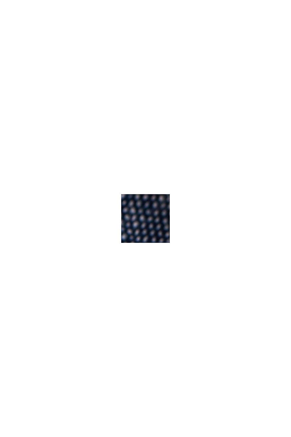 Linnen/biologisch katoen: overhemd met korte mouwen, NAVY, swatch