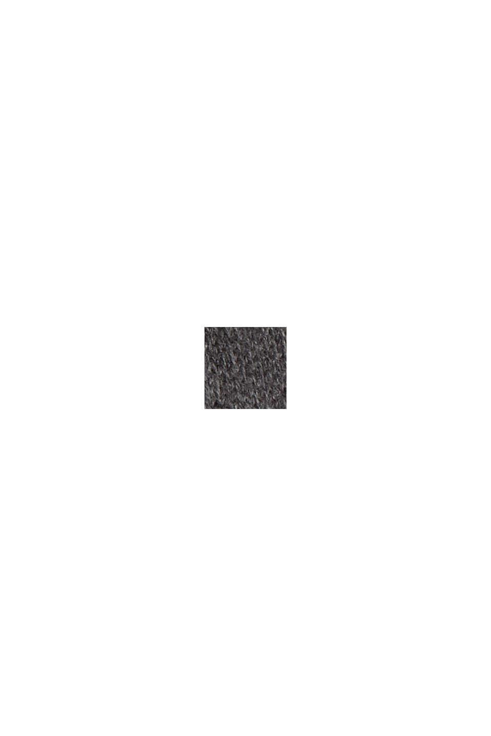 Jersey realizado en 100% algodón ecológico, DARK GREY, swatch