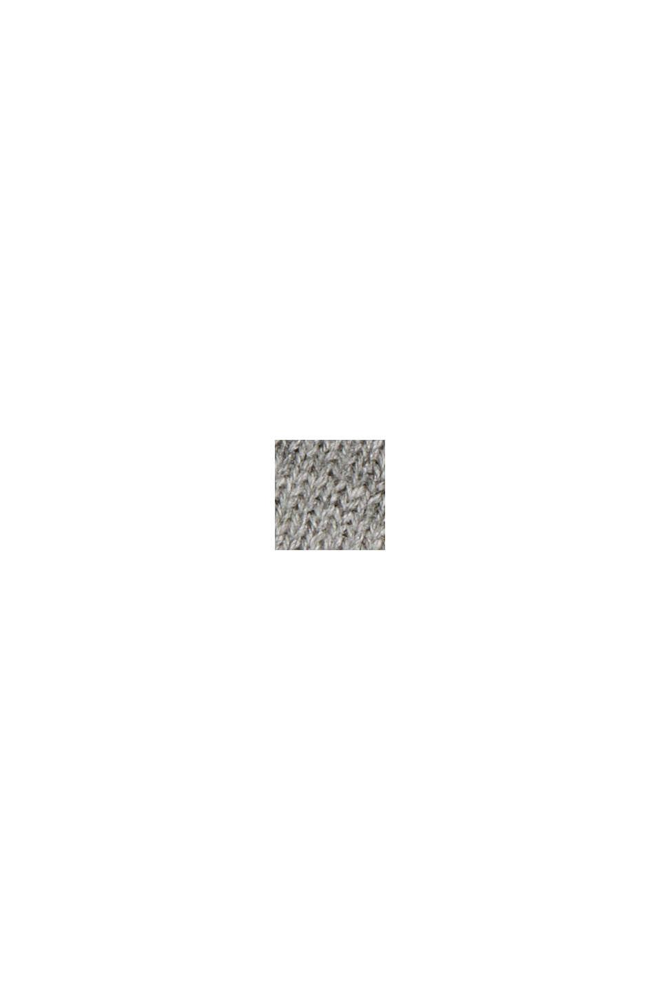 Jersey realizado en 100% algodón ecológico, MEDIUM GREY, swatch