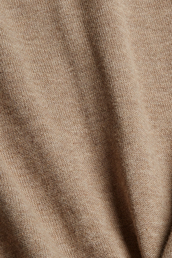 Neulepusero 100 % luomupuuvillaa, BEIGE, detail image number 4