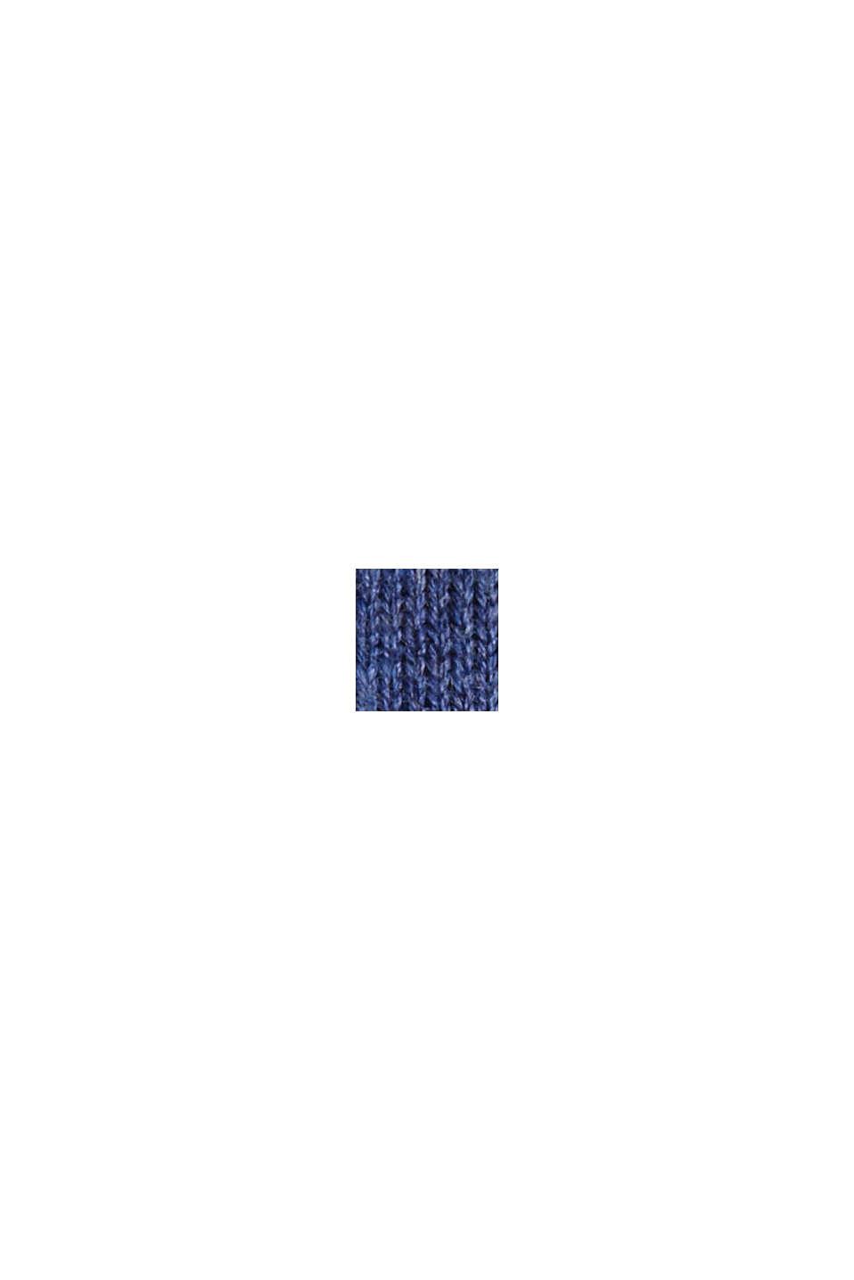 Pullover aus 100% Bio-Baumwolle, GREY BLUE, swatch