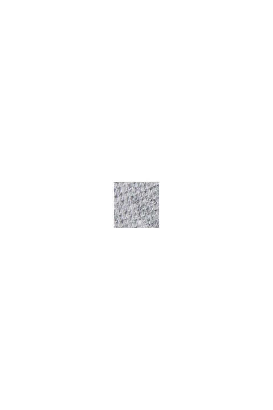 Polo en maille piquée, 100% coton bio, MEDIUM GREY, swatch