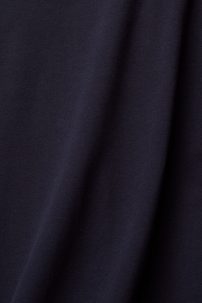 Polo in piqué di 100% cotone biologico, NAVY, detail image number 4