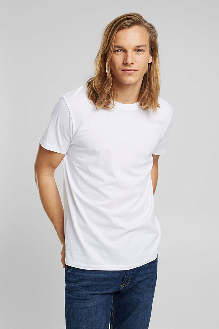 Jersey T-shirt made of 100% organic cotton