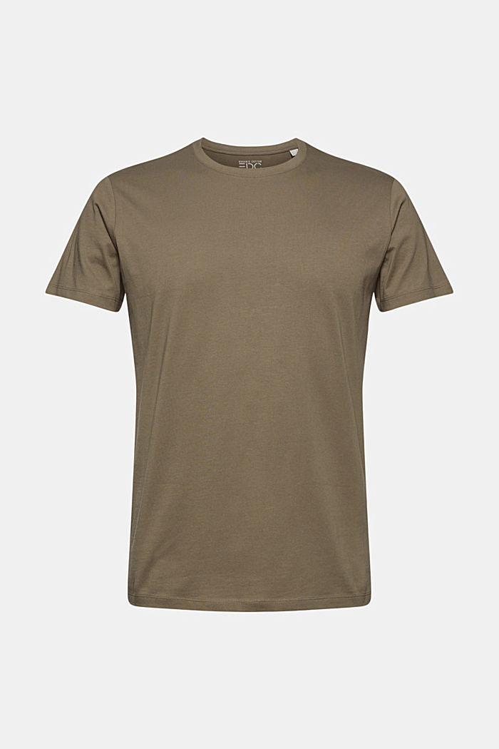 Jersey T-shirt made of 100% organic cotton