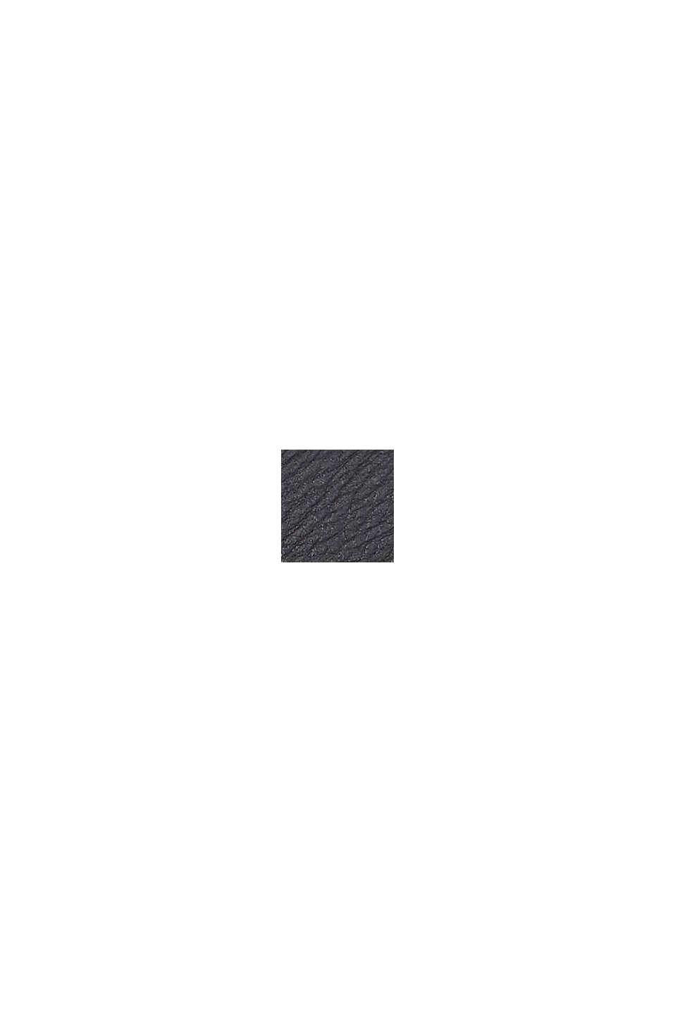 Schoudertas van imitatieleer, BLACK, swatch