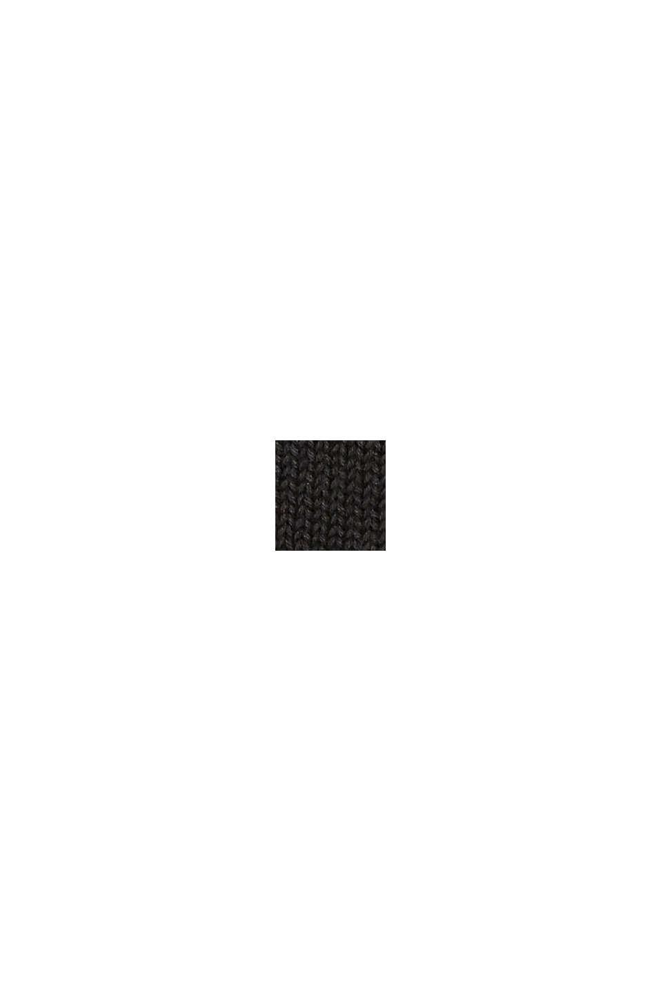 Bonnet en 100% coton, BLACK, swatch