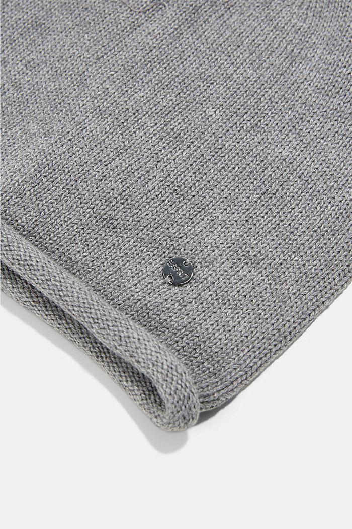 Gorro en 100% algodón, LIGHT GREY, detail image number 1