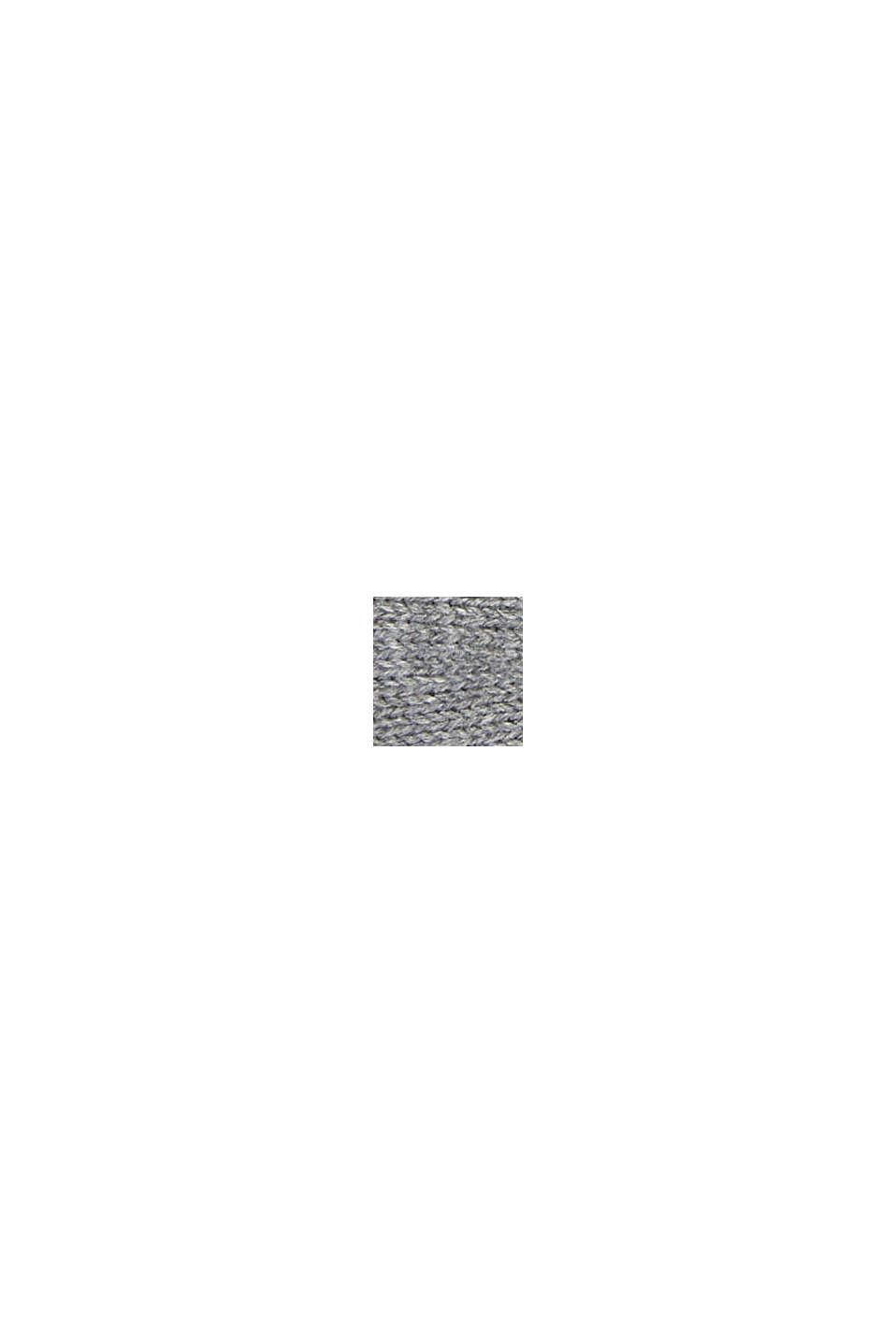 Bandeau en maille 100% coton, LIGHT GREY, swatch