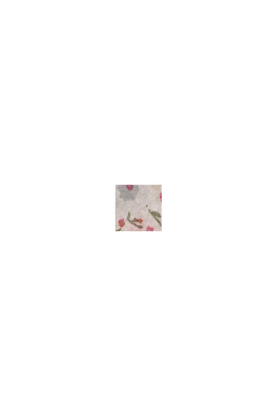 Recycelt: Loop-Schal mit Blumen-Print, CREAM BEIGE, swatch