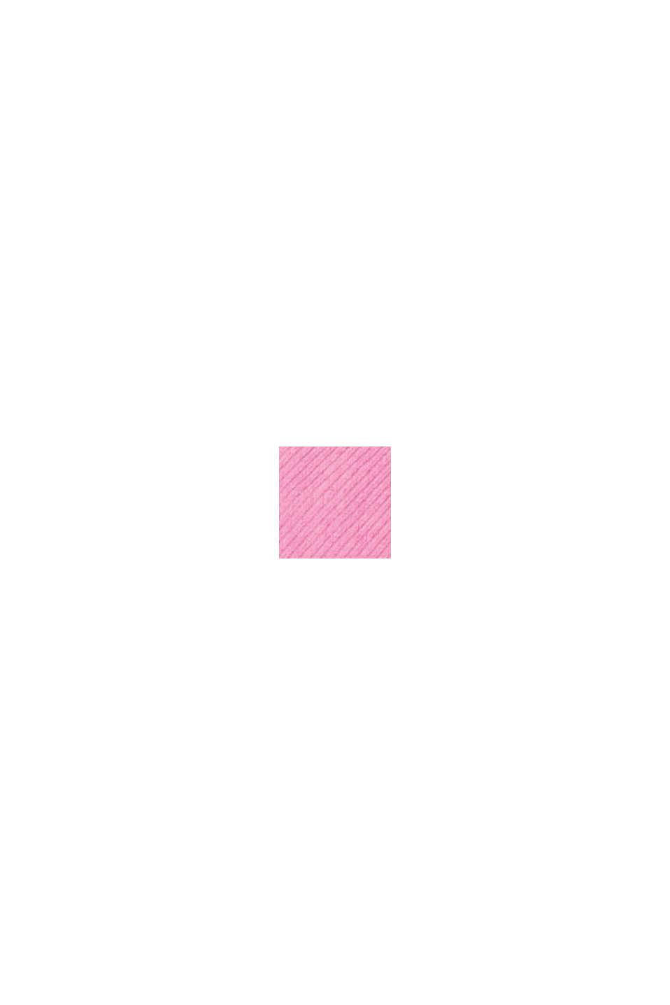 Foulard plissé à rayures, PINK FUCHSIA, swatch