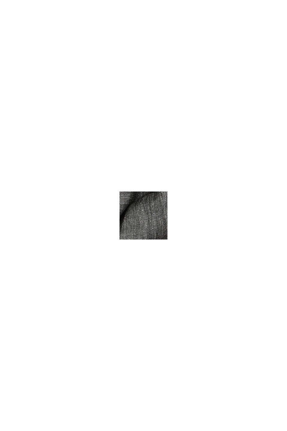 Pellavasekoitetta: siro tuubimalli, BLACK, swatch