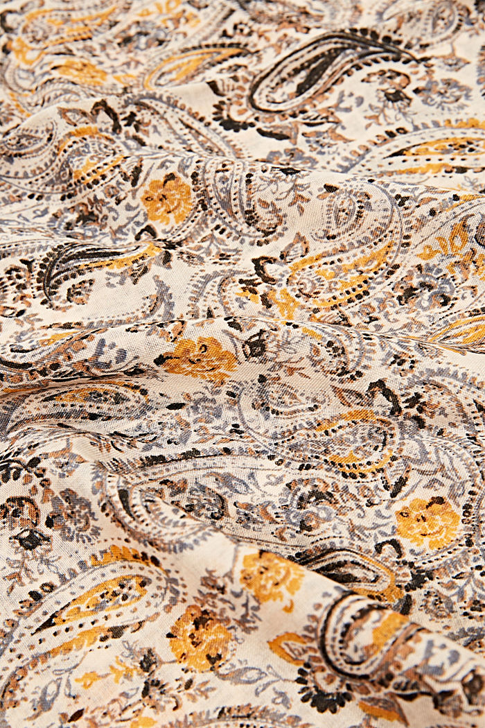 Recycled: paisley snood, CREAM BEIGE, detail image number 2