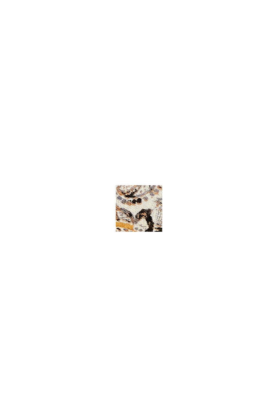 Recycelt: Loop-Schal mit Paisley-Muster, CREAM BEIGE, swatch