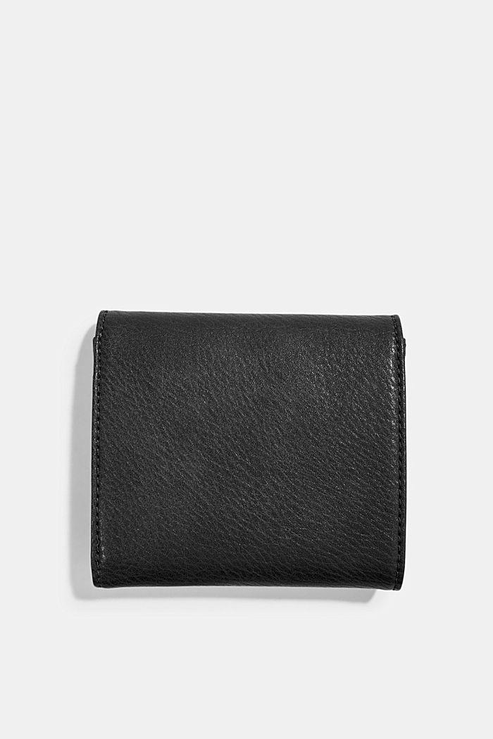 Portafoglio piccolo in similpelle, BLACK, detail image number 1