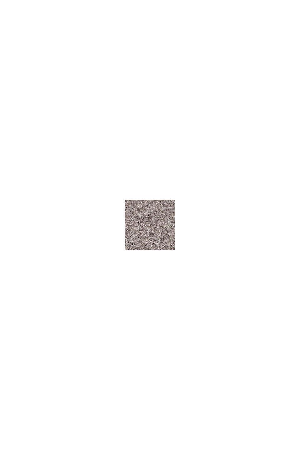 Recycelt: Schal mit Webmuster, YELLOW, swatch