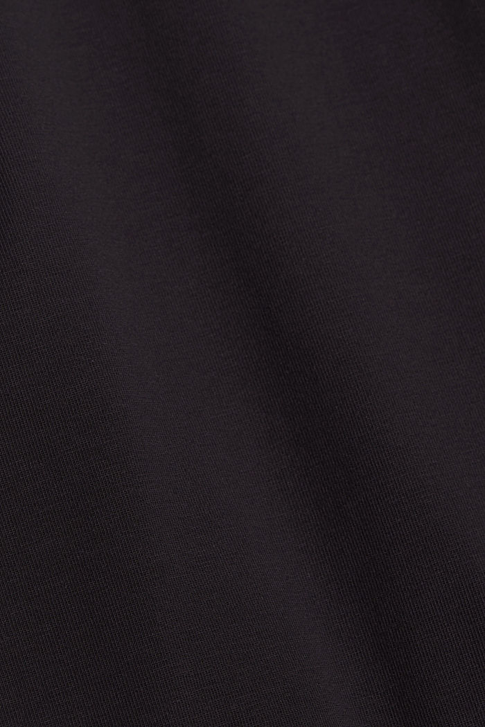 7/8-length leggings made organic cotton, BLACK, detail image number 4