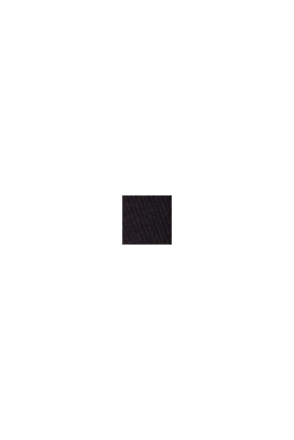 7/8 legíny z bio bavlny, BLACK, swatch