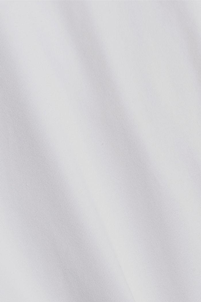 7/8-Leggings aus Bio-Baumwolle, WHITE, detail image number 4