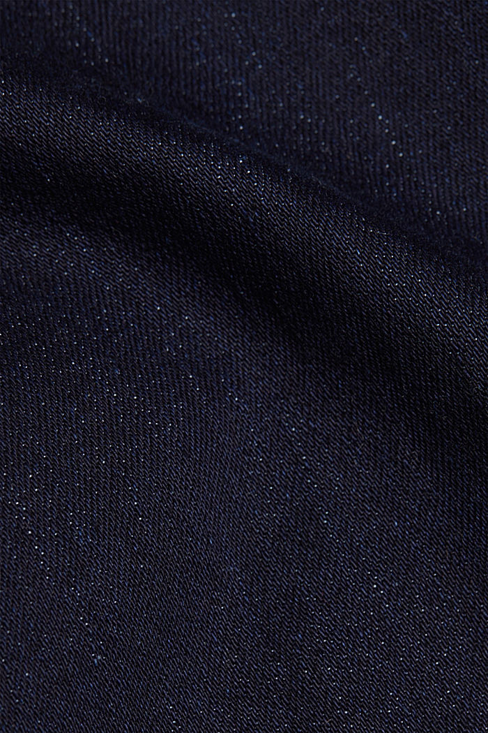 Super stretch jeans with organic cotton, BLUE RINSE, detail image number 4
