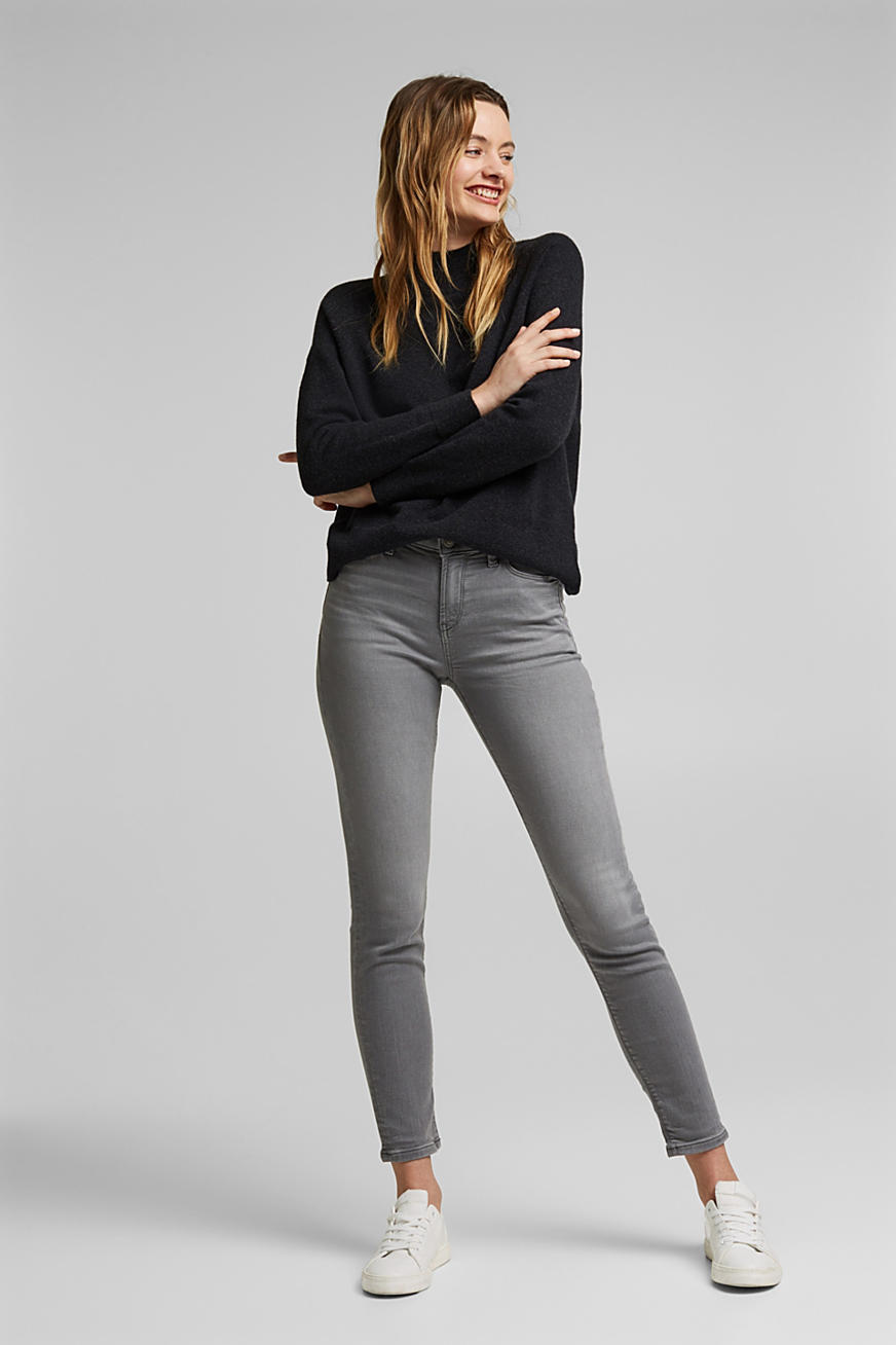 Tracksuit bottom jeans with organic cotton
