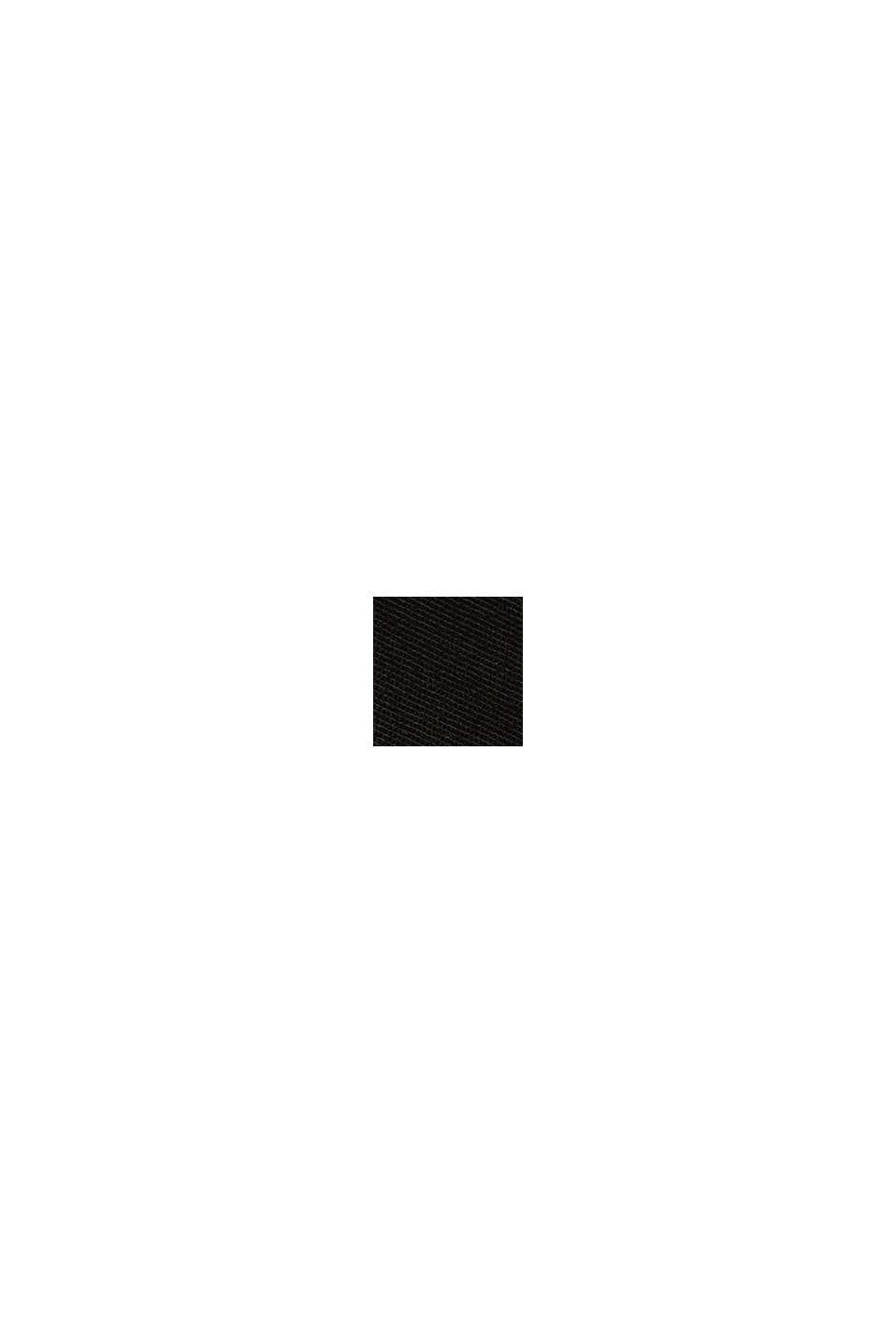 Chino con fibre elasticizzate innovative, BLACK, swatch