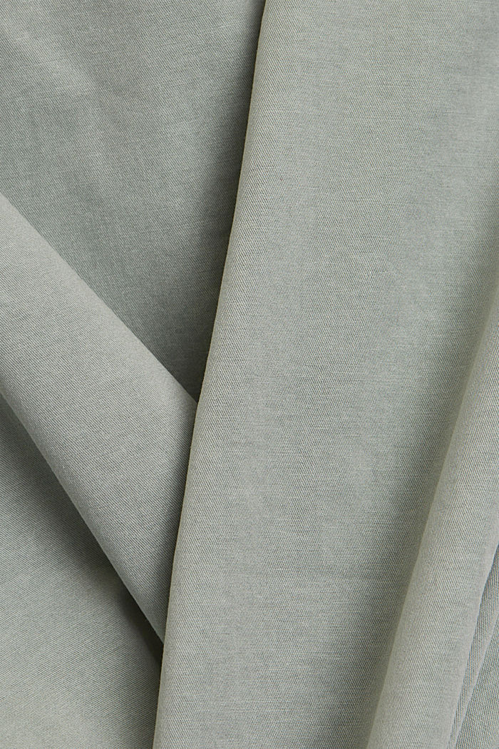 Chinos with innovative stretch fibres, LIGHT KHAKI, detail image number 4