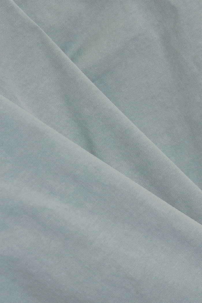 Chinos with innovative stretch fibres, LIGHT AQUA GREEN, detail image number 4