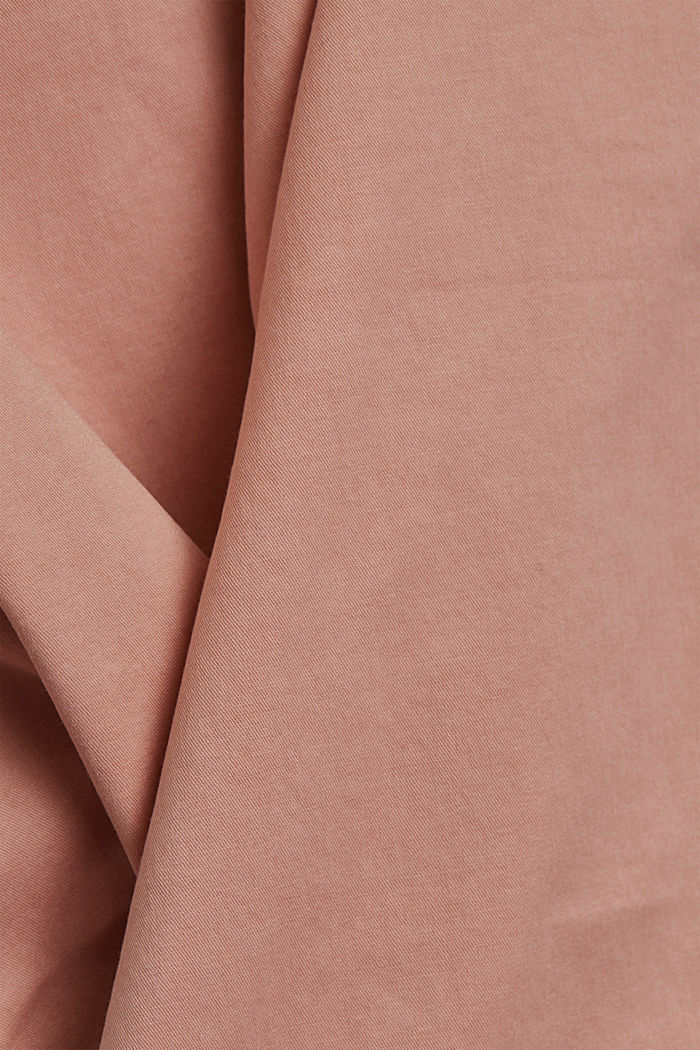 Chinos with innovative stretch fibres, NUDE, detail image number 4
