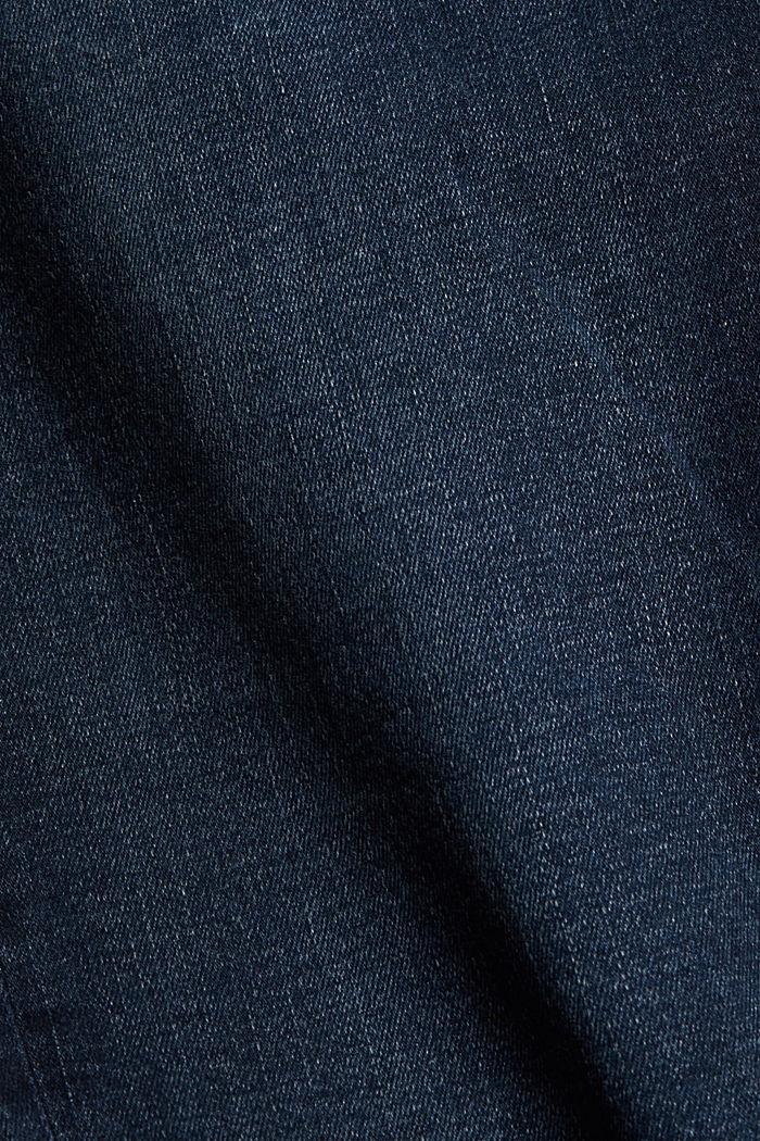 CURVY Stretch-Jeans mit Bio-Baumwolle, BLUE DARK WASHED, detail image number 1