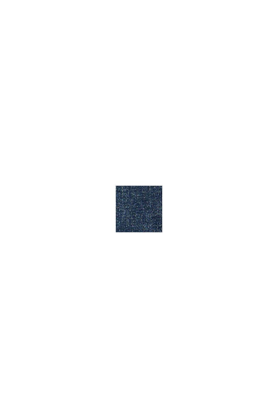 CURVY: strečové džíny s bio bavlnou, BLUE DARK WASHED, swatch