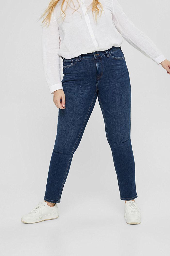 CURVY Stretch-Jeans mit Organic Cotton