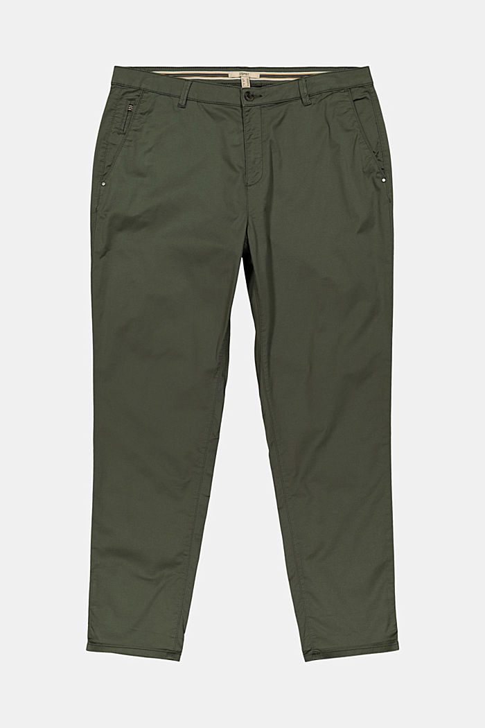 Pants woven, KHAKI GREEN, detail image number 1
