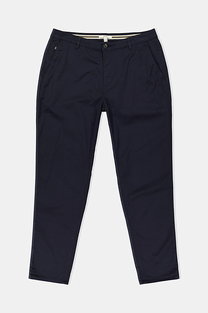 CURVY stretch chinos with Lycra xtra life™, NAVY, detail image number 1