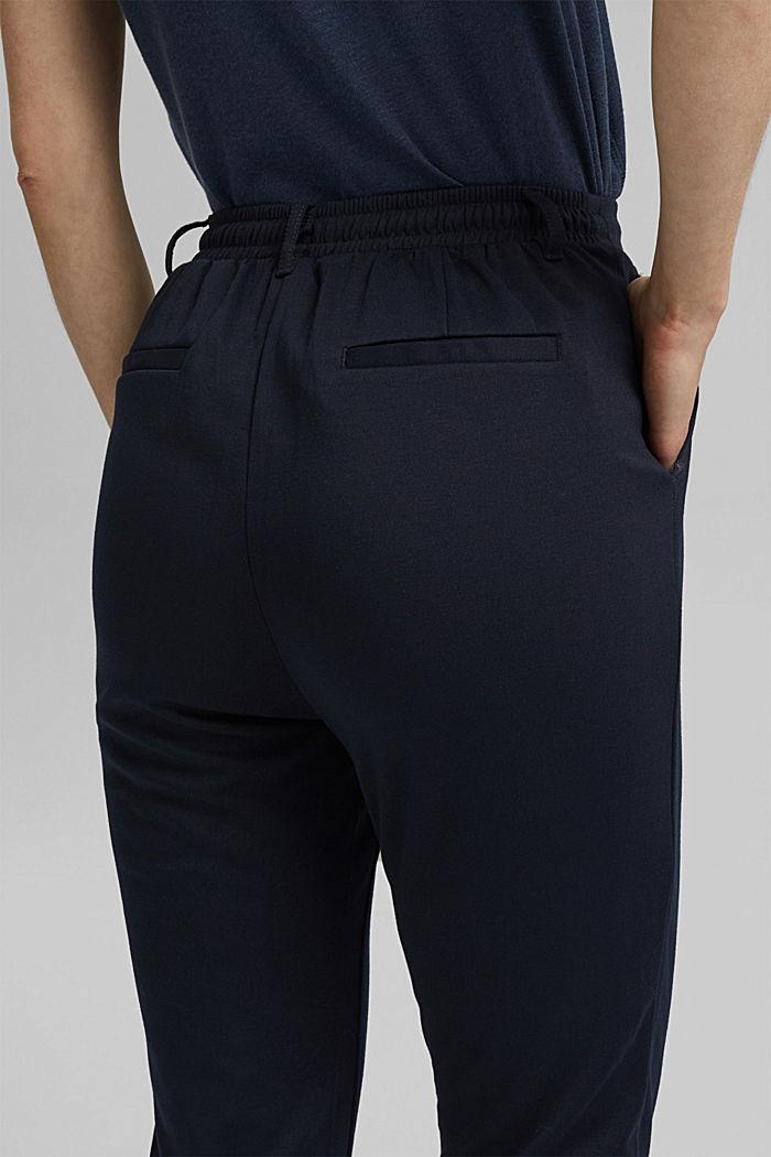 Pantalon stretch muni d´une taille élastique, DARK BLUE, detail image number 2