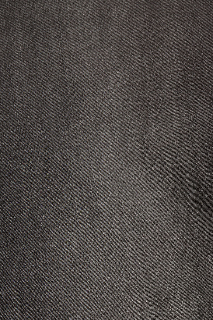 Jeans modellanti a vita alta, GREY DARK WASHED, detail image number 4
