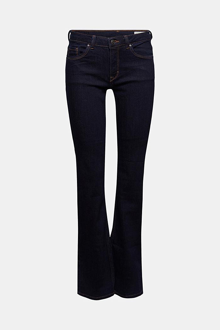 Basic džíny do zvonu, z bio bavlny