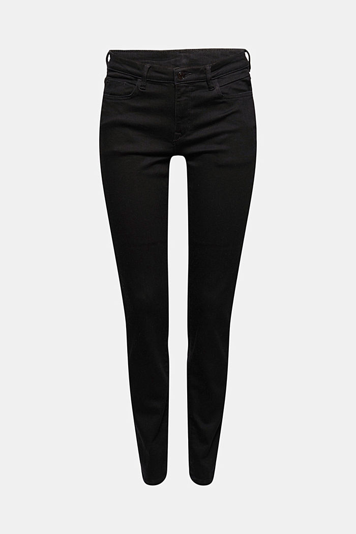 Stretch jeans made of blended organic cotton