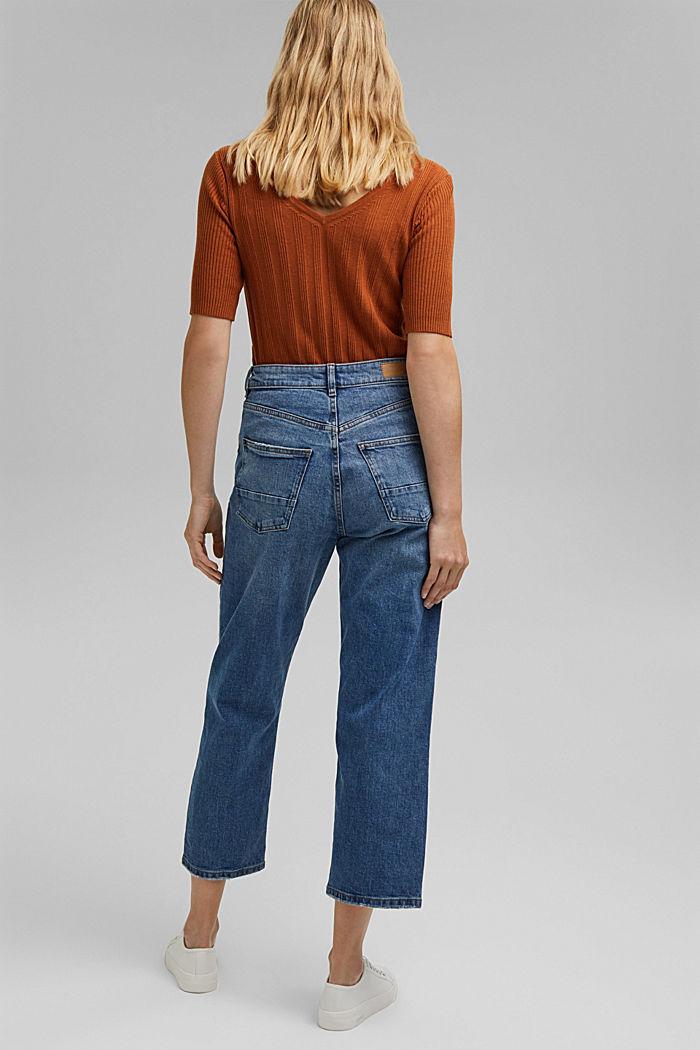 Fashion Fit ankle-length jeans, BLUE MEDIUM WASHED, detail image number 3