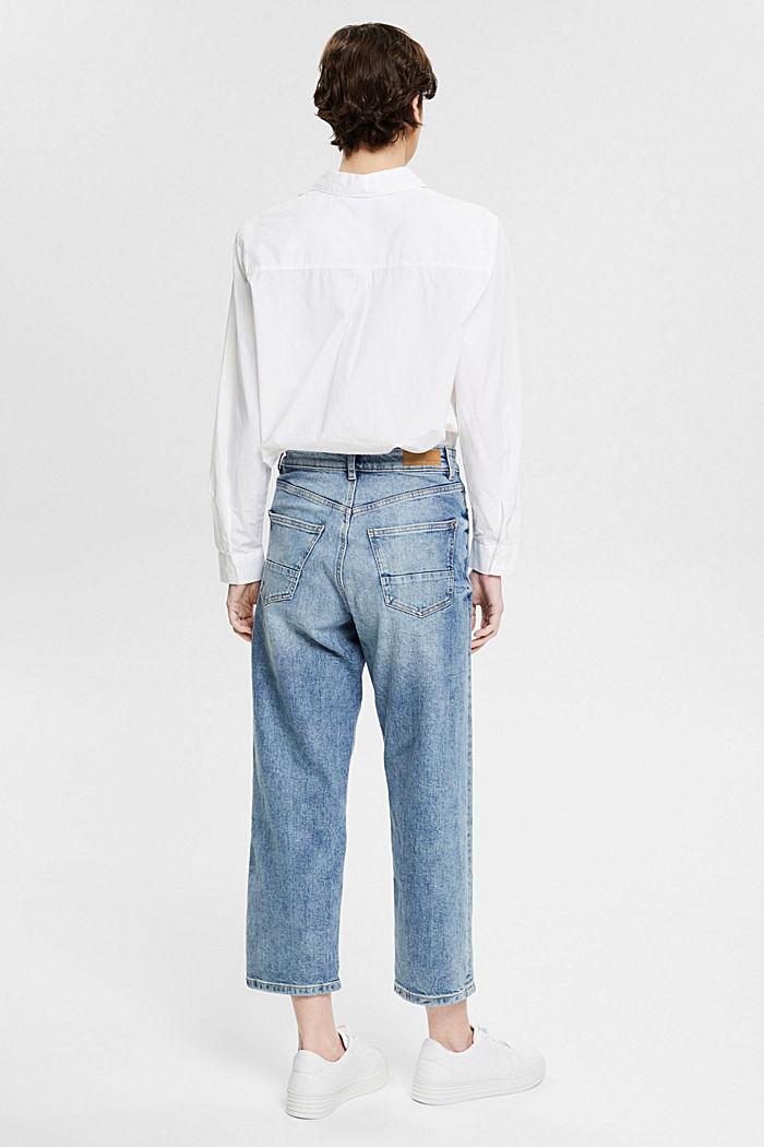 Knöchellange Jeans mit Fashion-Fit, BLUE LIGHT WASHED, detail image number 3