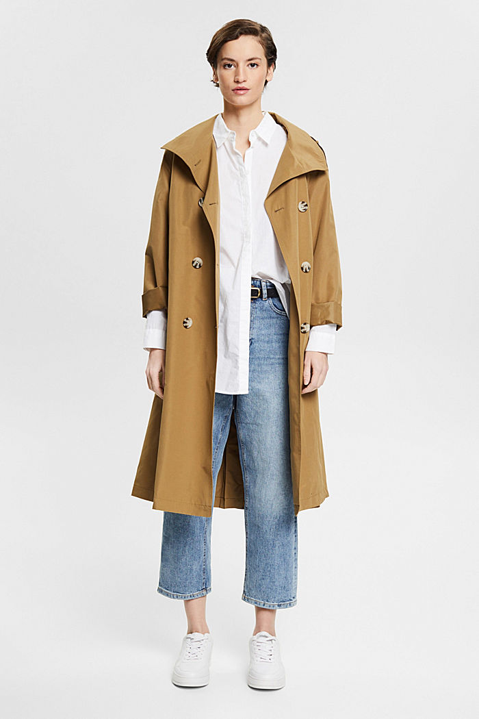 Knöchellange Jeans mit Fashion-Fit, BLUE LIGHT WASHED, detail image number 1