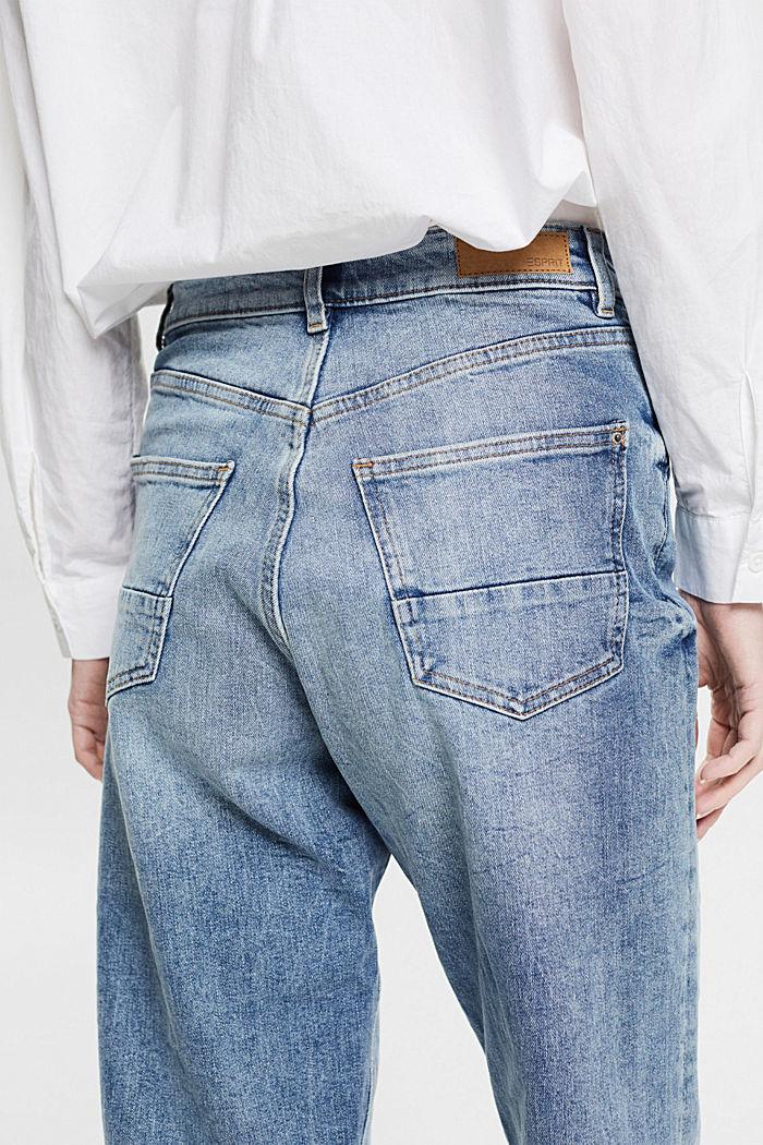 Knöchellange Jeans mit Fashion-Fit, BLUE LIGHT WASHED, detail image number 2