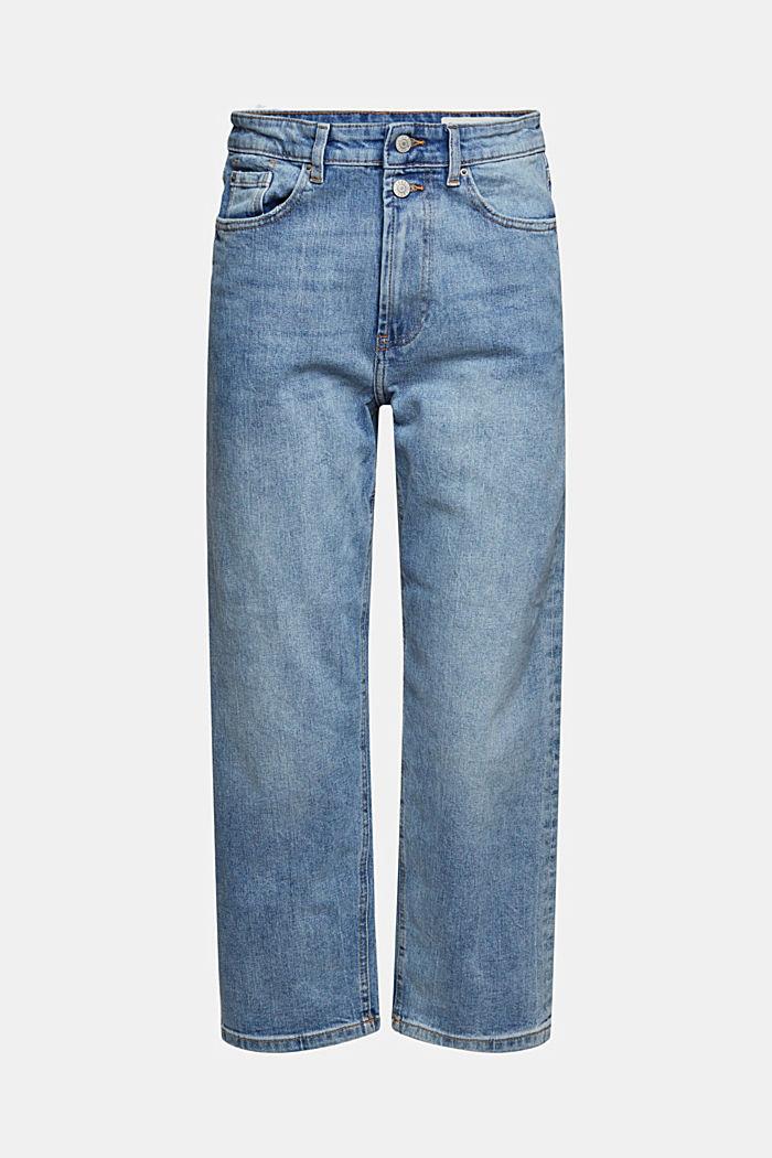 Ankellange jeans med fashion-fit