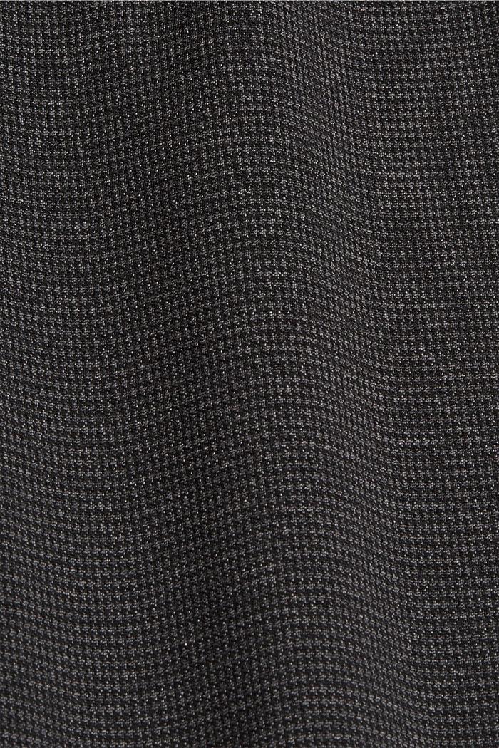 HOUNDSTOOTH mix + match joggingbroek, DARK GREY, detail image number 4