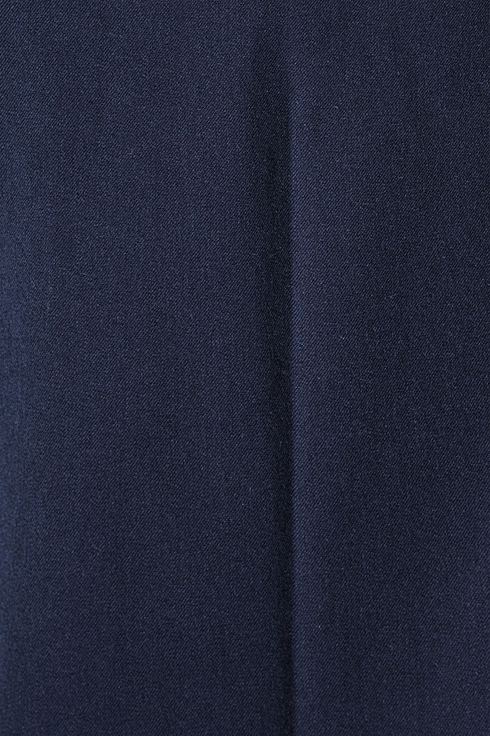 Cotton-blend stretch trousers, NAVY, detail image number 4