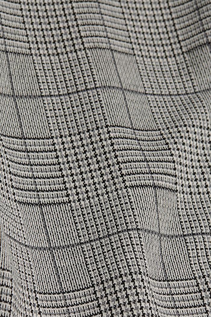 Hahnentritt-Leggings, BLACK, detail image number 4