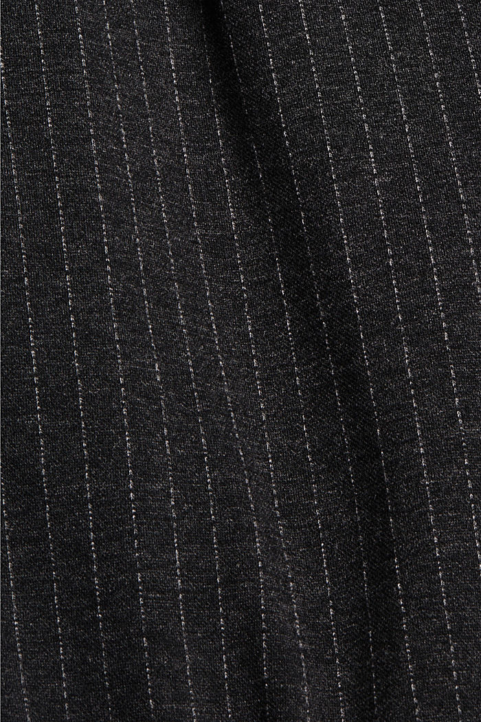 PINSTRIPE Mix + Match tracksuit bottoms, ANTHRACITE, detail image number 4